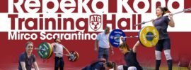 Rebeka Koha Europeans Training Hall Part 1 with Mirco Scarantino