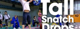 Tall Snatch Drops Warm Up with Mirko Zanni
