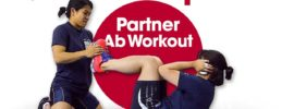 Team Japan Partner Ab Workout