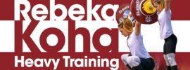 Rebeka Koha Last Heavy Training before 2017 Europeans