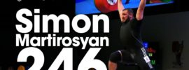 Simon Martirosyan 235kg Clean & Jerk + 246kg Junior World Record Attempt