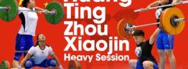 Huang Ting & Zhou Xiaojin Heavy Training Session 2017 Junior Worlds