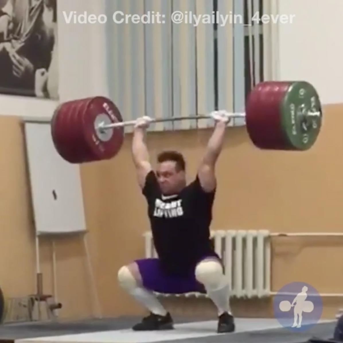 Ilya Ilyin 245kg Clean Amp Squat Jerk All Things Gym