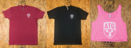 New ATG Shirts: Pocket Logo Edition + Pink Crop Tops + Flags