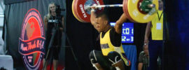 Yeison Lopez 162kg Snatch 2017 Pan Ams