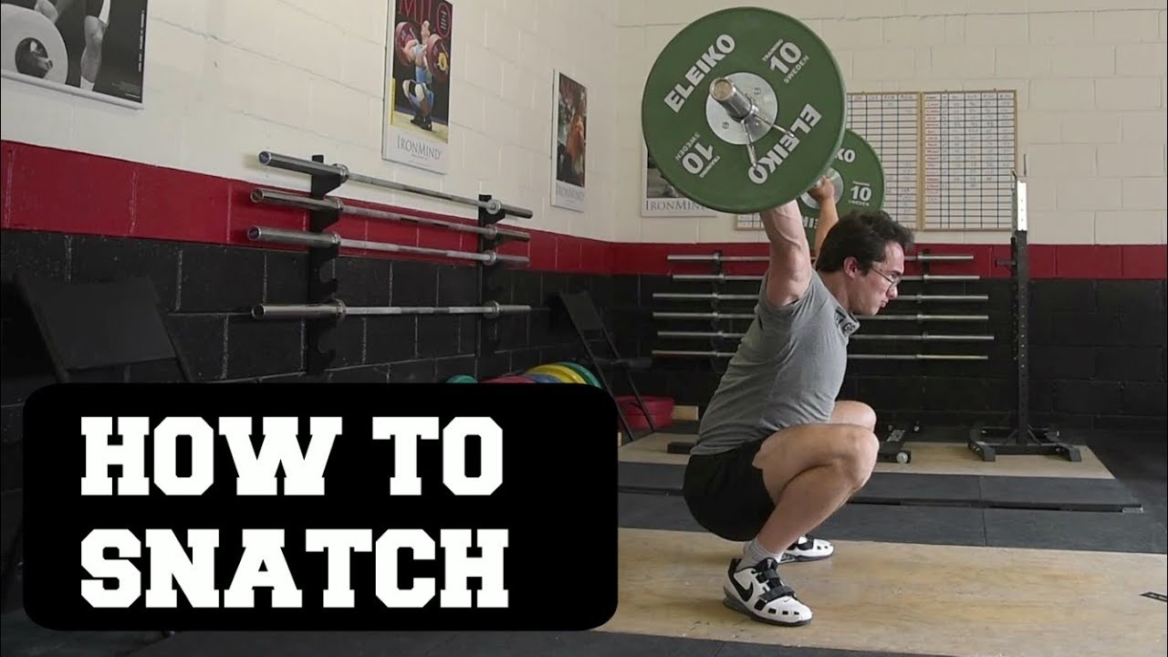 Clarence Kennedy Snatch Tutorial All Things Gym