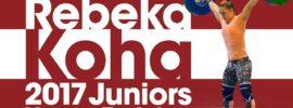 Rebeka Koha Heavy Training Session before Junior Worlds 2017