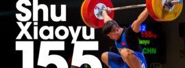 Shu Xiaoyu (77kg) 155kg Snatch 2017 Junior Worlds