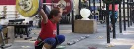 Harrison Maurus 150kg Snatch