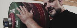 Jirka Orsag 190kg Snatch, 240kg Clean & Jerk, 340kg Squat Session *Translation*
