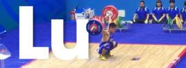 Lu Xiaojun 170kg Snatch 2017 Chinese National Games