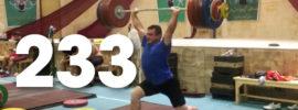 Sohrab Moradi 233kg Clean & Jerk