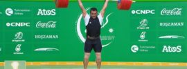 Sohrab Moradi New World Record Total 413kg at 94kg