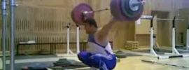Dmitry Berestov 202.5kg Snatch + 245kg Clean