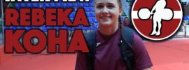 Rebeka Koha Interview + Training at 2017 European Juniors