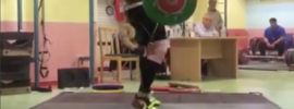 Behdad Salimi 260kg, Sohrab Moradi 235kg Clean & Jerk, 320kg Back Squat