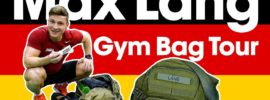 "Max Lang ""What's in your Bag?"" Gym Bag Tour"