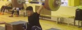 Oleg Chen 170kg Block Snatch