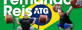 Fernando Reis 170kg Hang Snatch + 305kg Squat Session 2017 Worlds