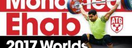 "Mohamed Ehab ""50 Shades of 130kg"" 2017 Worlds Training Hall Session"